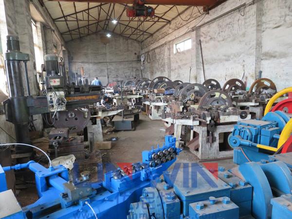 nail making machine manufacturing workshop