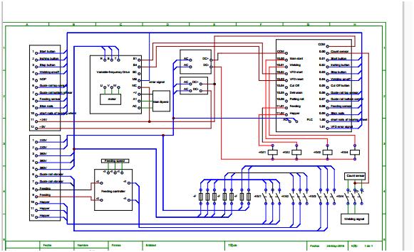 PLC control diagram